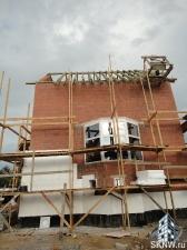 Утепление фасада пенополистиролом и отделка клинкерной плиткой под кирпич