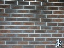Комбинирование клинкерной плитки и декоративной штукатурки на фасаде