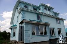 Фасадная штукатурка каркасного дома на минеральную вату_13