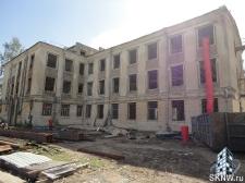 Реноация фасада декоративной штукатуркой ATLAS и архитектурными элементами_4
