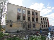 Реноация фасада декоративной штукатуркой ATLAS и архитектурными элементами_5
