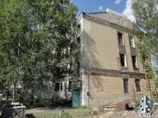 Реноация фасада декоративной штукатуркой ATLAS и архитектурными элементами_6