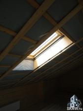 Мансардные окна и дымоходы